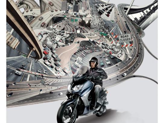Yamaha Print Ad -  Road