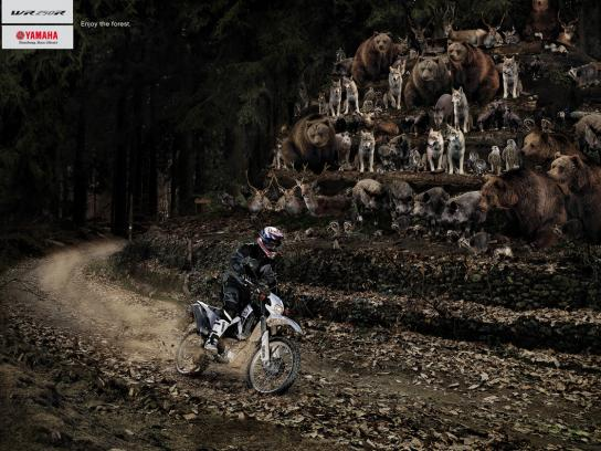 Yamaha Print Ad -  Animals