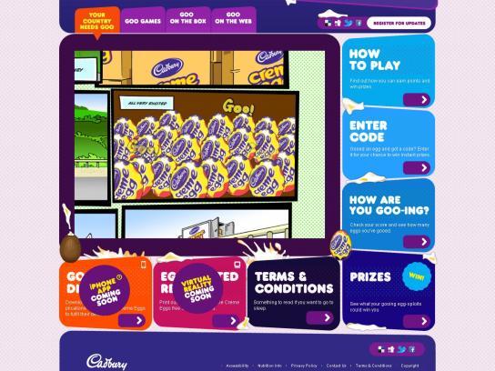 Cadbury Digital Ad -  Integrated Digital Campaign