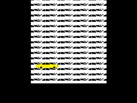 Yellow Pages Print Ad -  Cars