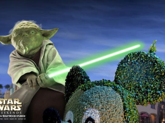 Disney Print Ad -  Yoda