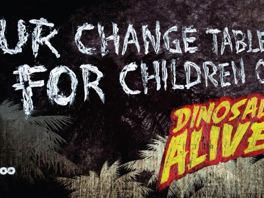 Calgary Zoo Outdoor Ad -  Change tables