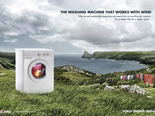 Zorlu Print Ad -  Washing machine
