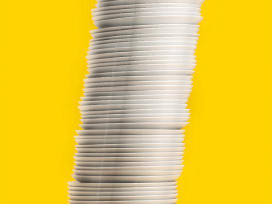 Zanussi Print Ad -  Plates