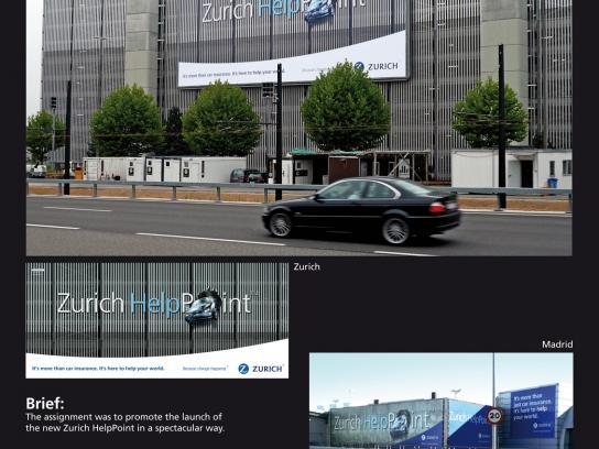 Zurich Ambient Ad -  Wall