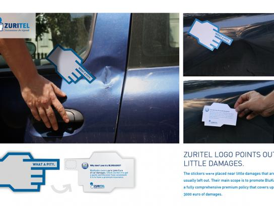 Zuritel Ambient Ad -  What a pity