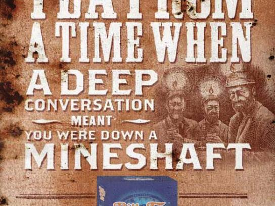Billy Tea Print Ad -  Mineshaft