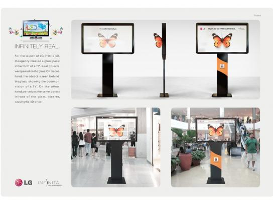 LG Ambient Ad -  Butterfly