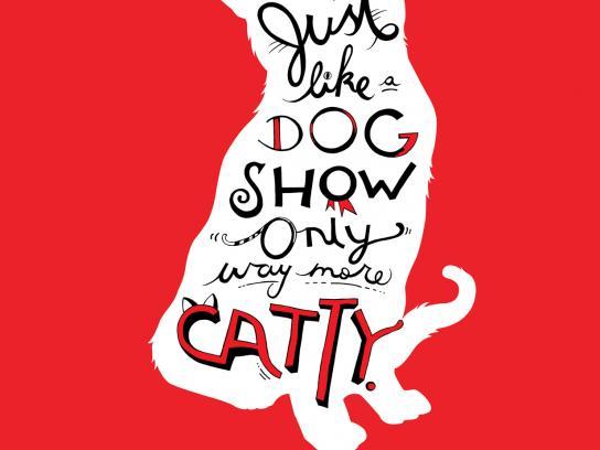 Purina Print Ad -  Catty