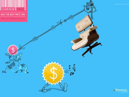 Ponteio Lar Print Ad -  Battle, 1