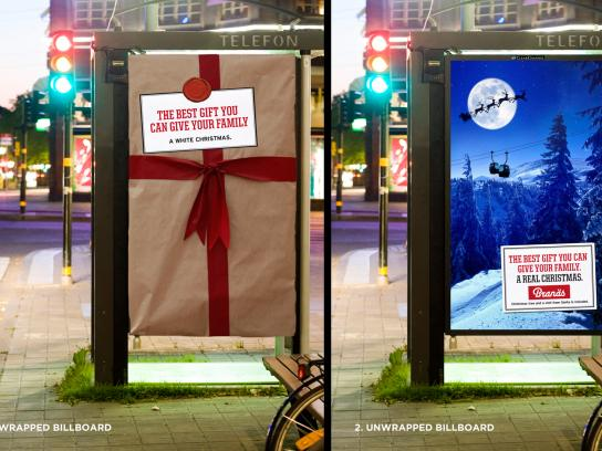 Branäs Outdoor Ad -  A Real Christmas