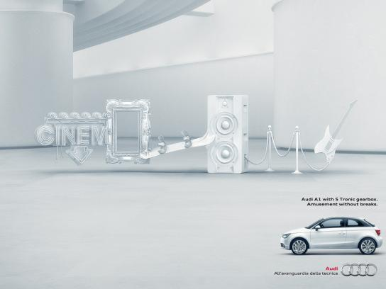Audi Print Ad -  No breaks
