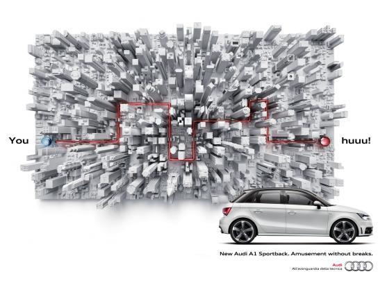 Audi Film Ad -  Youhuuu