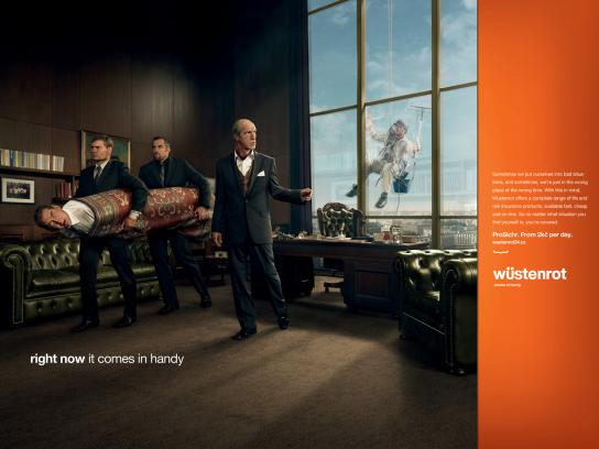 Wustenrot Print Ad -  Mafia