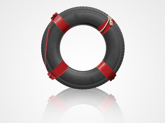 AAA Print Ad -  Lifesaver