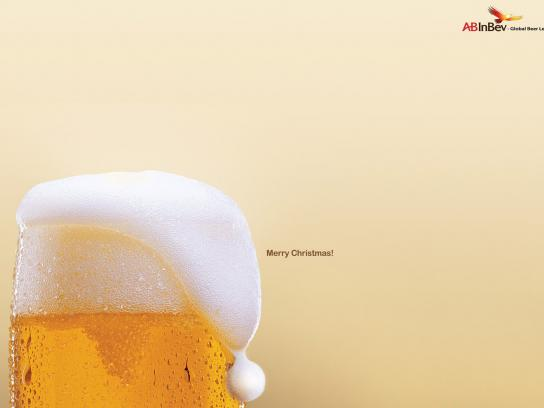 Inbev Print Ad -  Merry Christmas