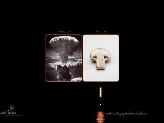 A Bela Sintra Print Ad -  Mushroom