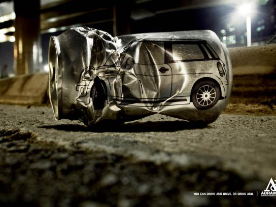 Abramet Print Ad -  Drinking and driving, 1