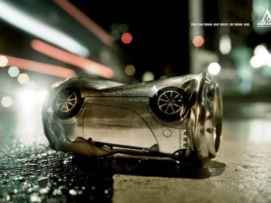Abramet Print Ad -  Drinking and driving, 2