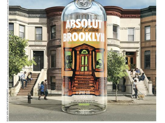 Absolut Print Ad -  Brooklyn