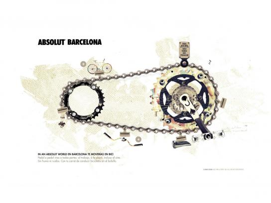 Absolut Digital Ad -  Web
