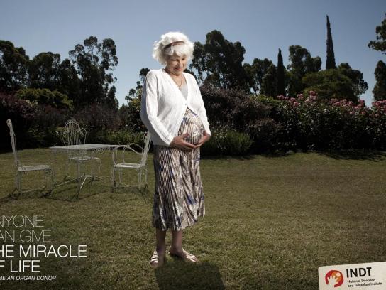 INDT Print Ad -  Grandma