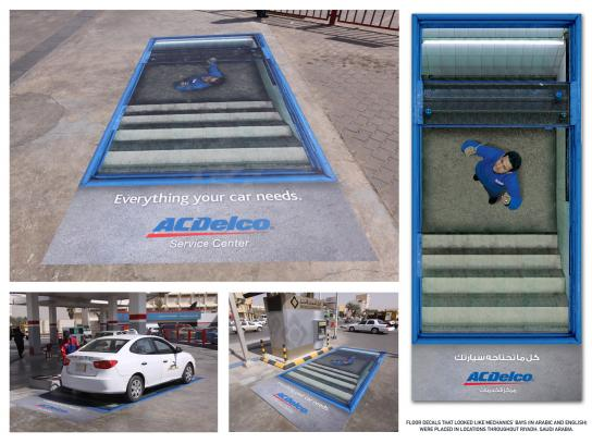 ACDelco Outdoor Ad -  Mechanic