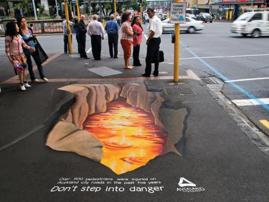 Auckland City Council Ambient Ad -  Lava