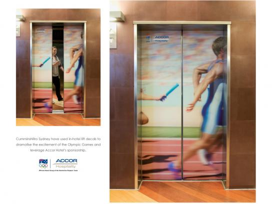 Accor Ambient Ad -  Relay Pass