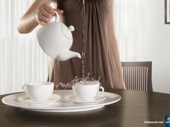 Acriton Print Ad -  Tea