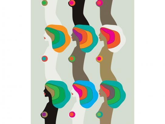 The American Cancer Society Print Ad -  Kari Moden