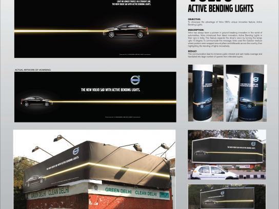Volvo Outdoor Ad -  Active Bending Lights