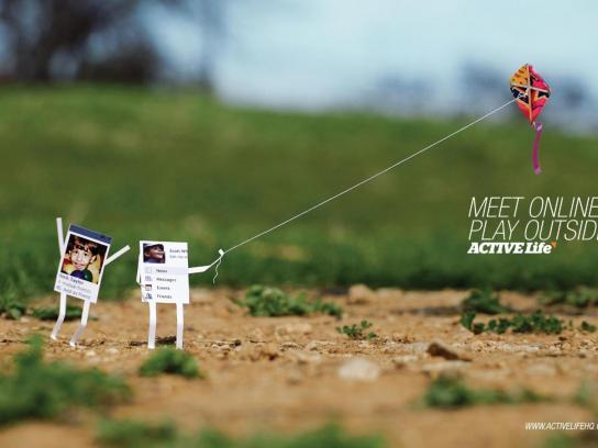 Active Life Print Ad -  Kite