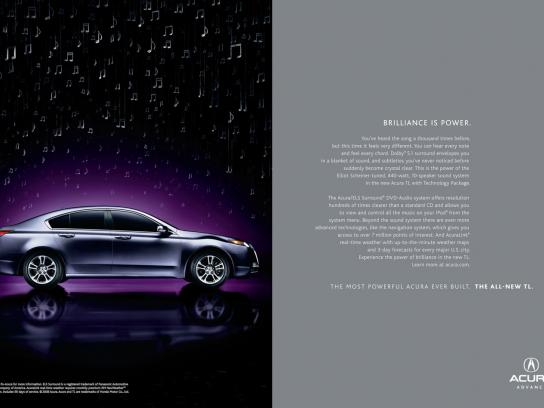 Honda Print Ad -  Brilliance