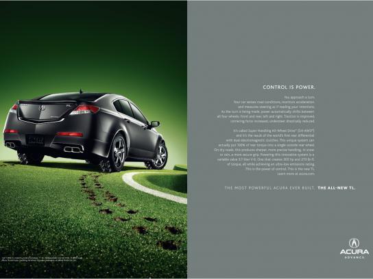 Honda Print Ad -  Control