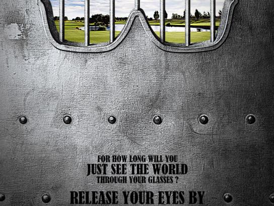 Laser Eye Center Print Ad -  Release your eyes, 1