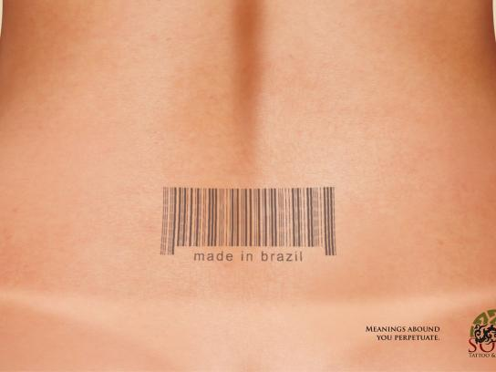 Soul Tattoo & Piercing Print Ad -  Barcode