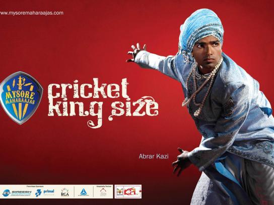 Mysore Maharaajas Print Ad -  Cricket King Size, 2