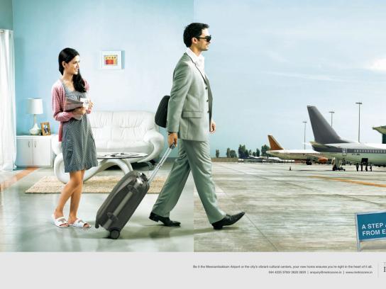 Metrozone Print Ad -  Airport