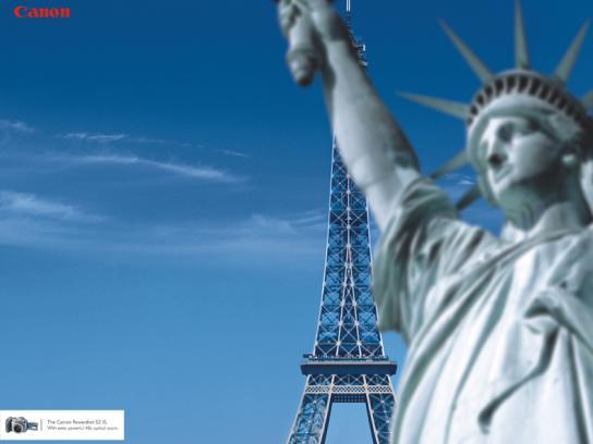 Statue of Liberty vs Eiffel Tower