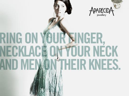 Aparecida Jewellery Print Ad -  On their knees