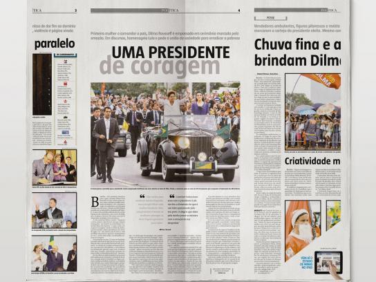 Estado de Minas Print Ad -  iPad, 1