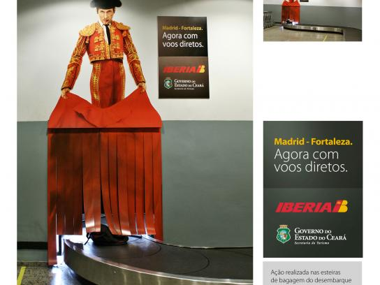 Iberia Ambient Ad -  Toreador