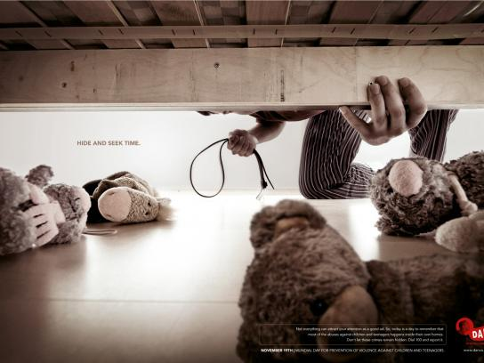 Danza Print Ad -  Hide seek