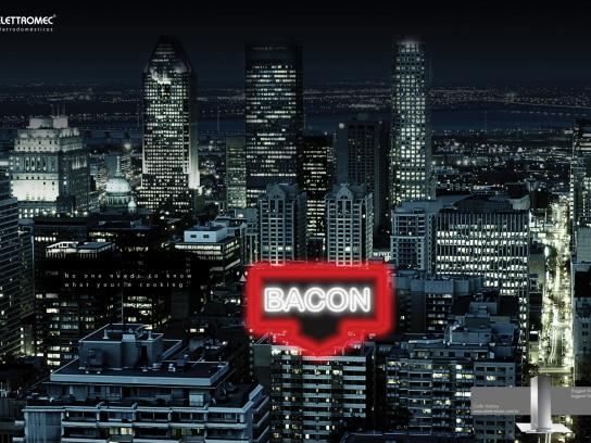 Elettromec Print Ad -  Bacon