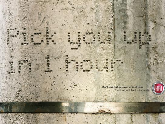 Fiat Print Ad -  SMS, Post