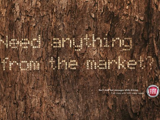 Fiat Print Ad -  SMS, Tree