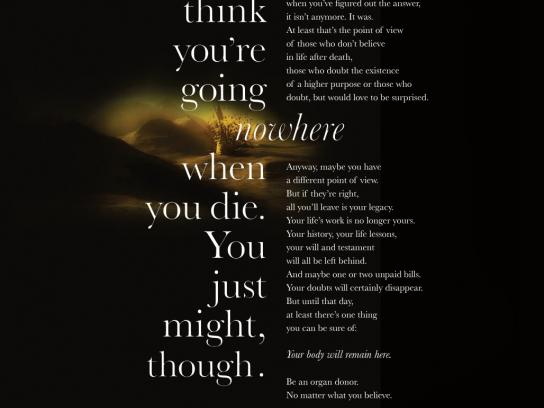 ABTO Print Ad -  Nowhere