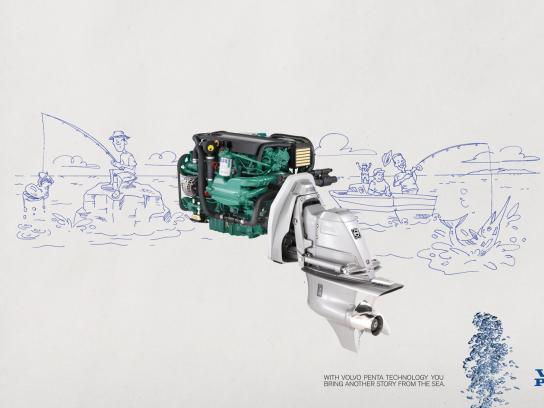 Volvo Print Ad -  Story, 2