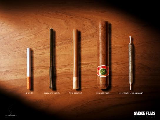 Smoke Films Print Ad -  Joint